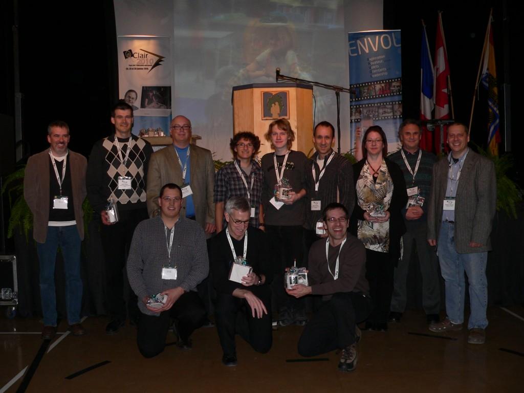 Les participants impliqués dans certaines activités de Clair2010