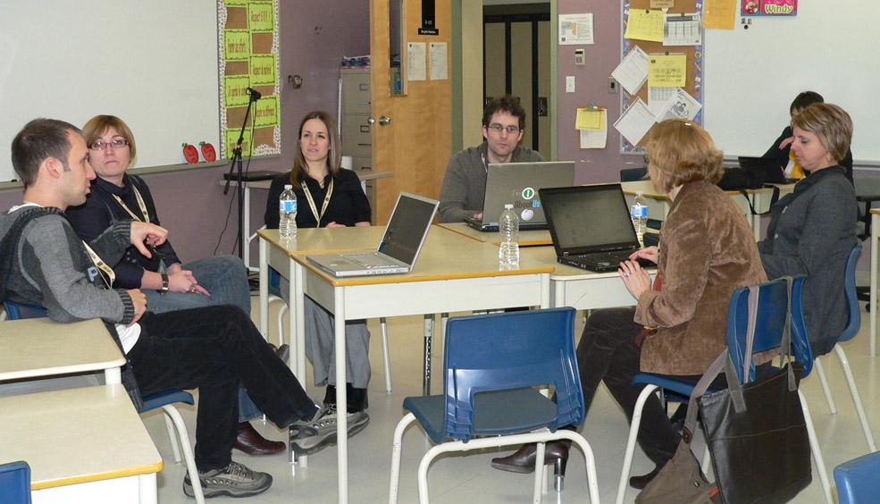 Atelier sur l'écriture collaborative